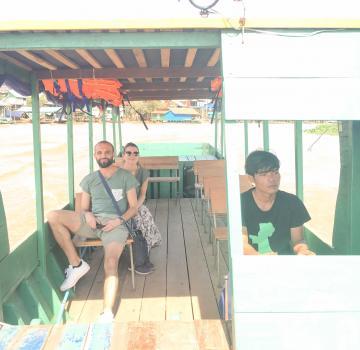 Transfert en bateau privé à Siem Reap - Battambang