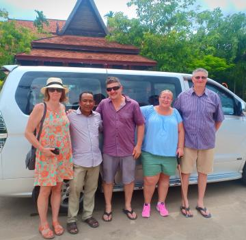 Private taxi Siem Reap - Kep overland Transfer