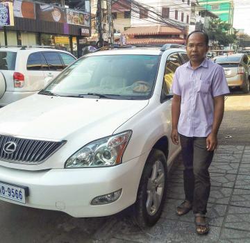 Taxi privé de Siem Reap à la ville de Battambang