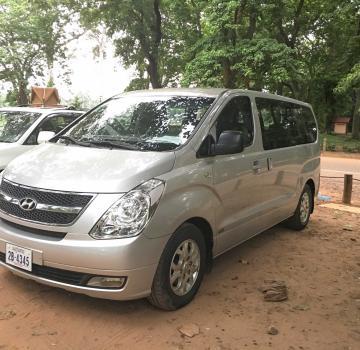 Taxi Poipet frontière à la ville de Siem Reap