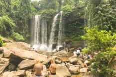 Angkor Wat - Kulen Waterfall - Bengmelea - Tonlesap Lake. - kulen-natural-waterfall.jpg