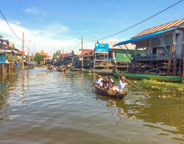 Explore Tonle Sap Lake of Fishing Community